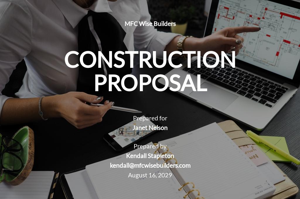 Simple Construction Proposal Template.jpe