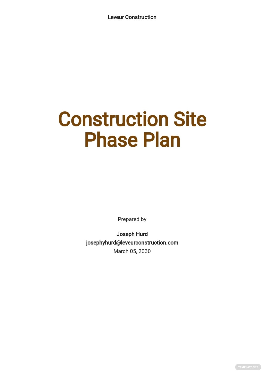 Construction Site Phase Plan Template.jpe