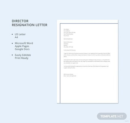 Free Resignation Retraction Letter Template Download 700