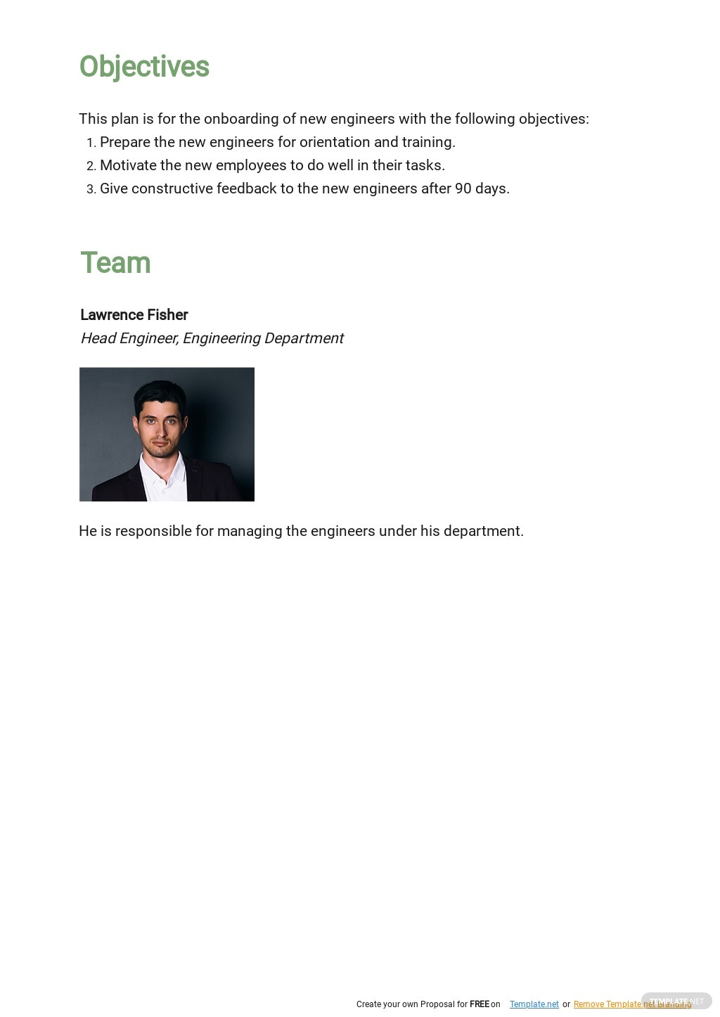 One Page 30 60 90 Day Construction Plan Template 1.jpe