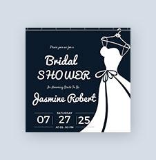 Printable Bridal Shower Invitation Template