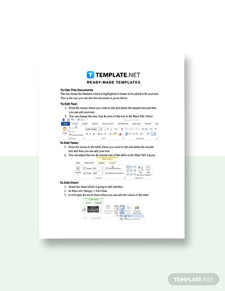 One Page Construction Sales Plan template guide