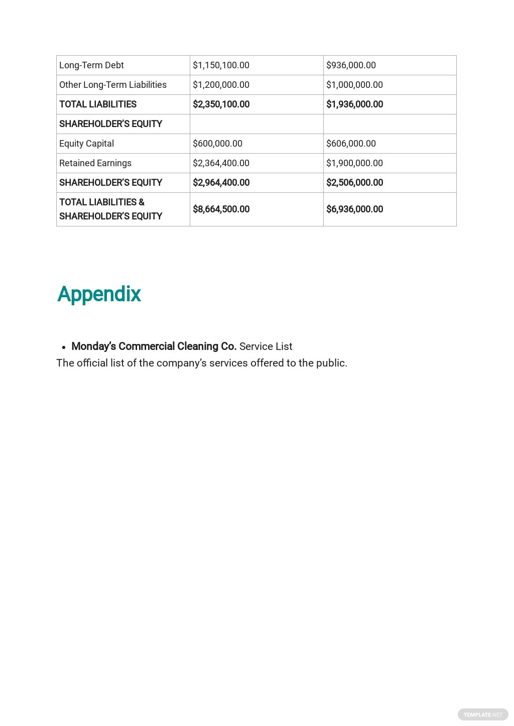 Post Construction Cleaning Business Plan Template 10.jpe