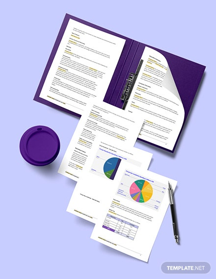 Construction Social Media Marketing Plan Example