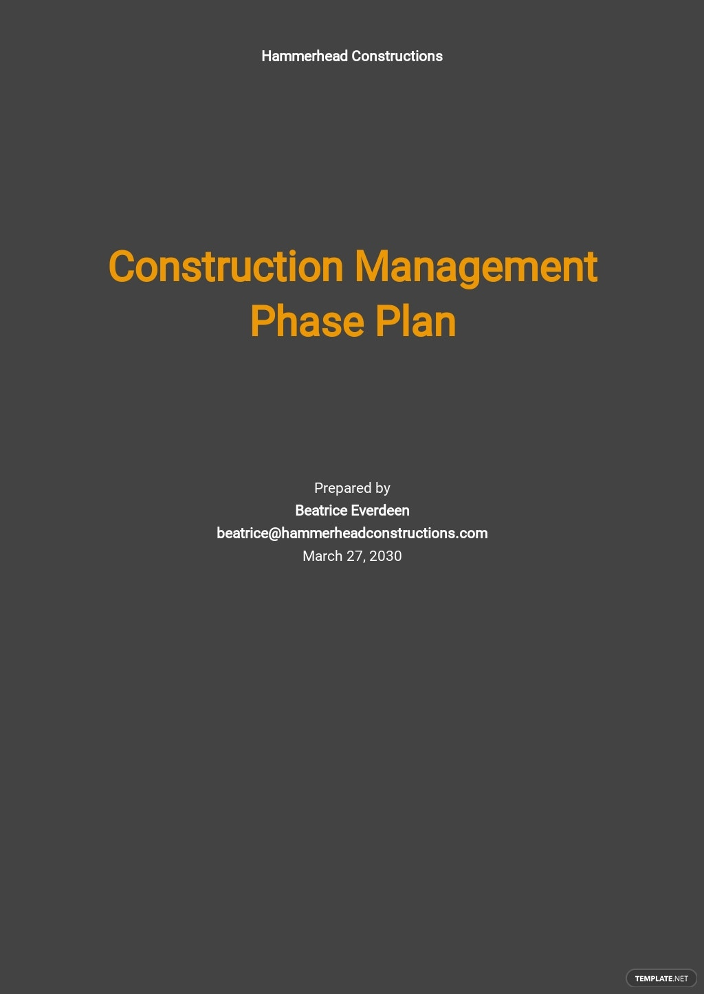 Construction Management Phase Plan Template.jpe