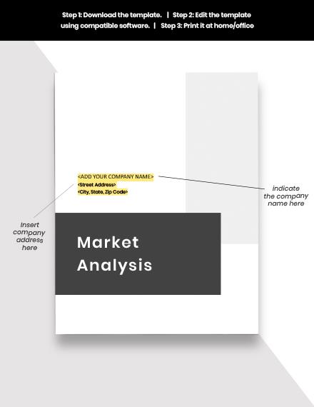 Property Market Analysis Template Info