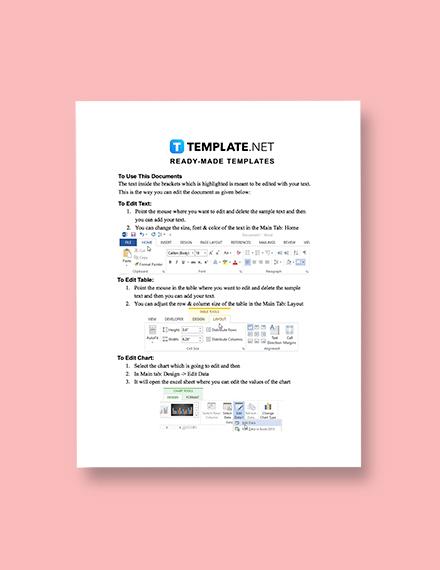 Sample Construction Billing Statement
