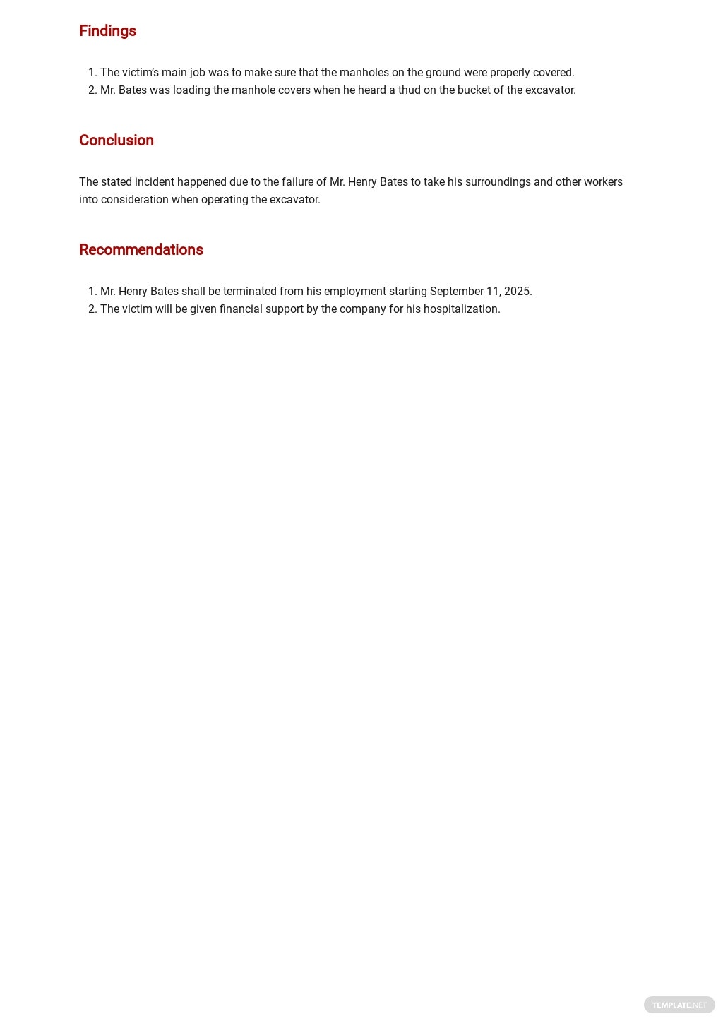 Construction Site Safety Report Template 2.jpe