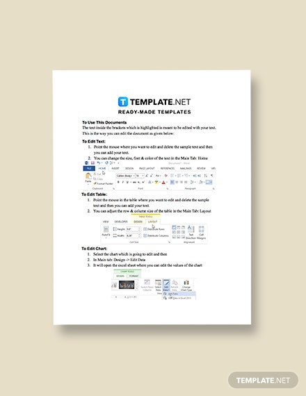 Construction Project Marketing Checklist Template format