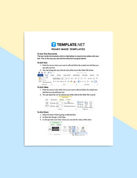 Construction Change User Request Form Format