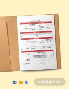 Construction Internal Transfer (Staff) Form Template