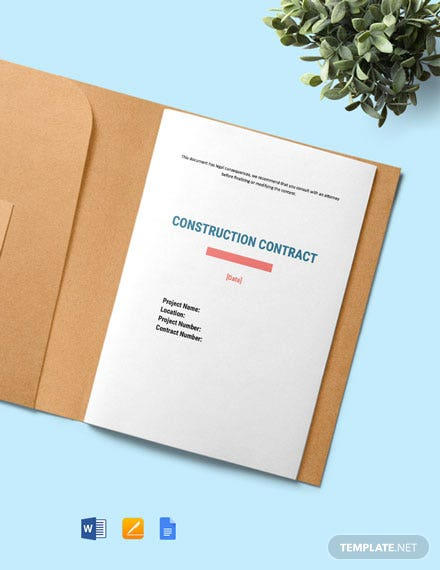 Agreement Between Design-Builder and Contractor Template