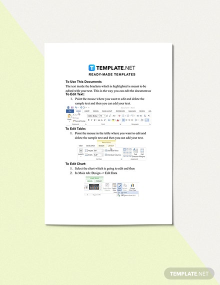 Request for Information Log template Download