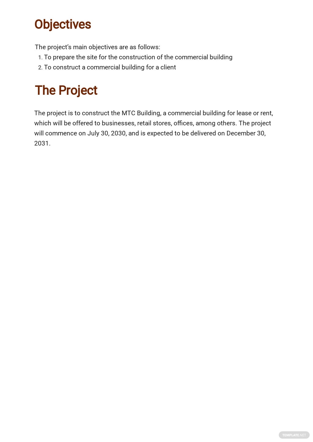 Free Simple Construction Phase Plan Template 1.jpe