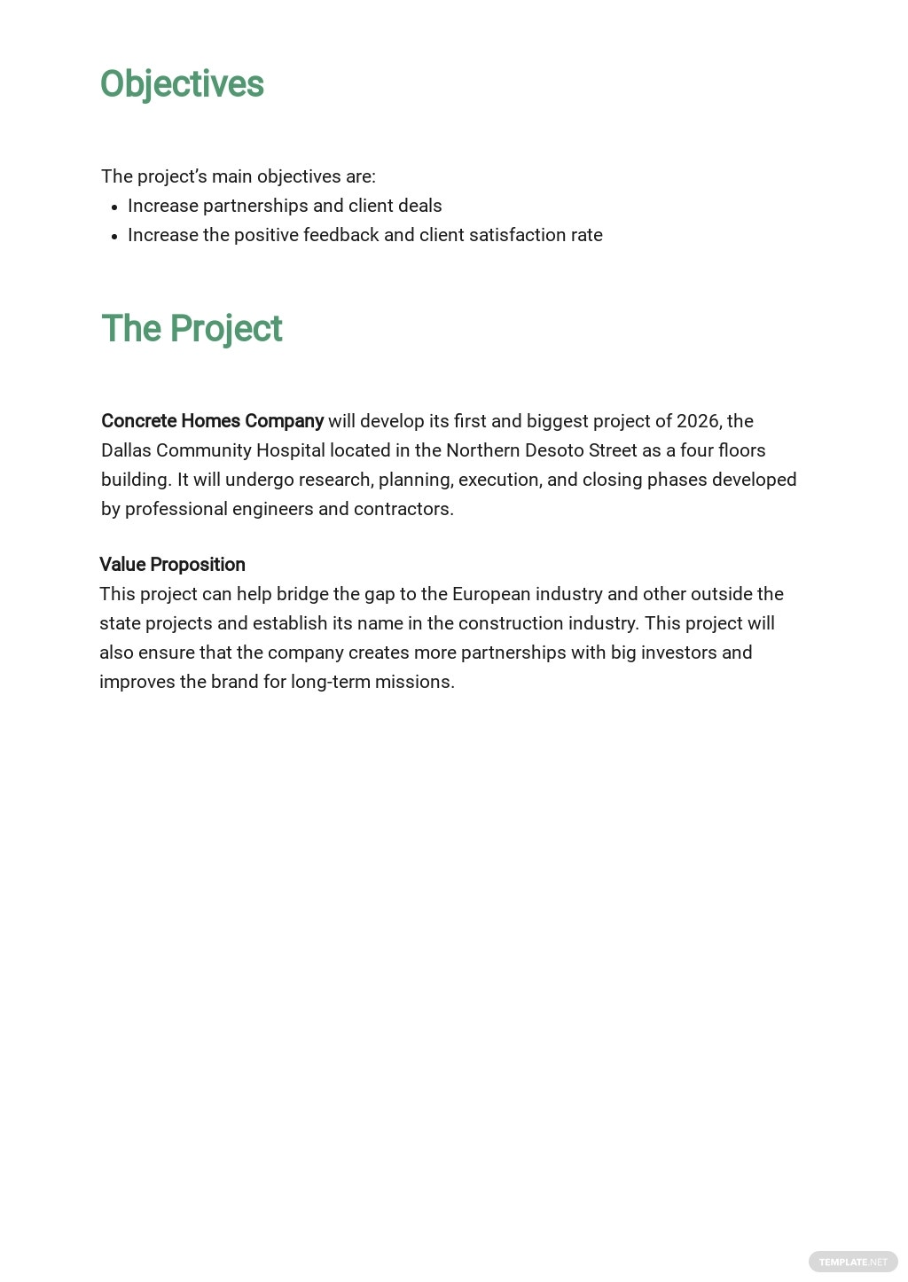 Free Blank Construction Phase Plan Template 1.jpe
