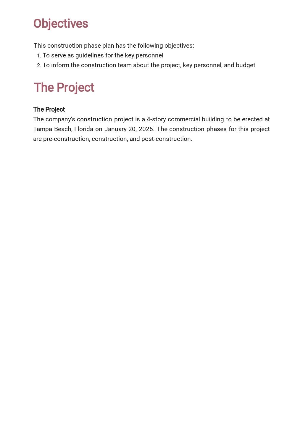 Free Basic Construction Phase Plan Template 1.jpe