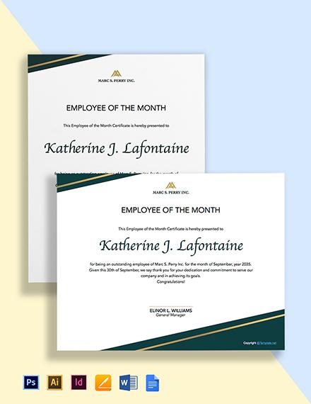 Free Sample HR Certificate Template