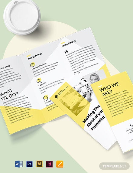 Recruiter Brochure Template