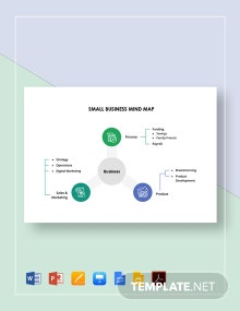 Small Business Mind Map Template