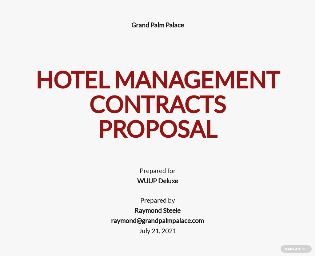 Hotel Management Contracts Proposal Template.jpe