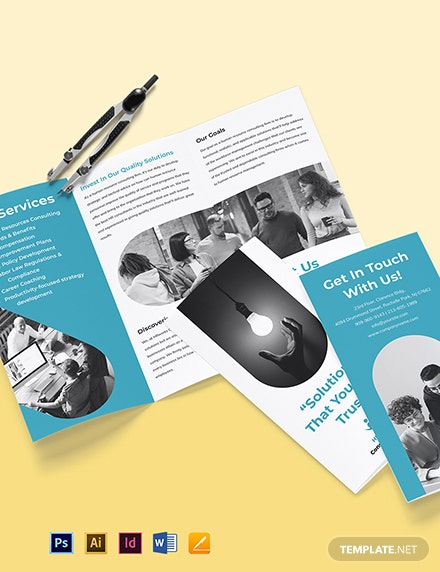 HR Consultancy Brochure Template
