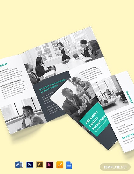 HR Services Brochure Template
