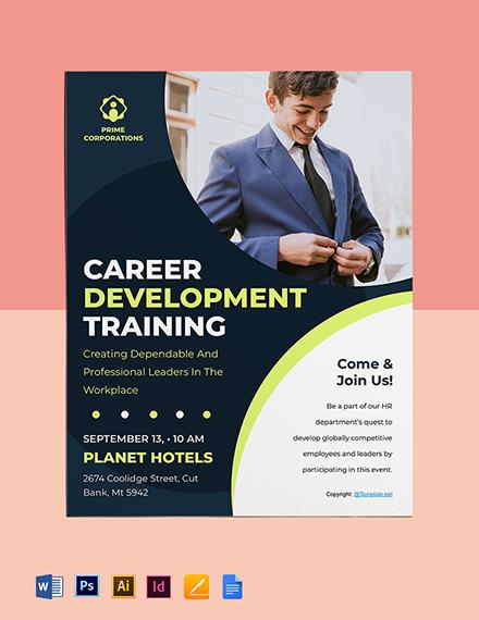 Free Modern HR Flyer Template