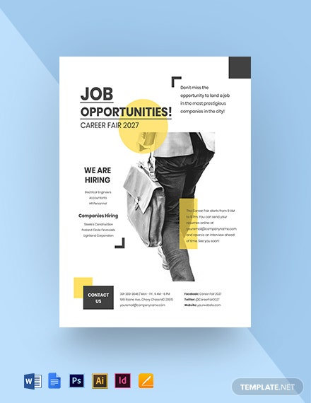Job Opportunity Flyer Template