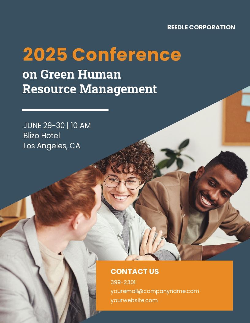 Human Resource Management Flyer Template