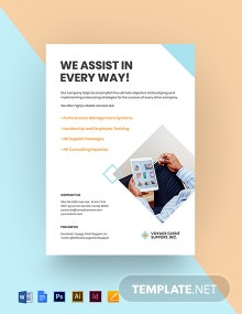 HR Services Flyer Template