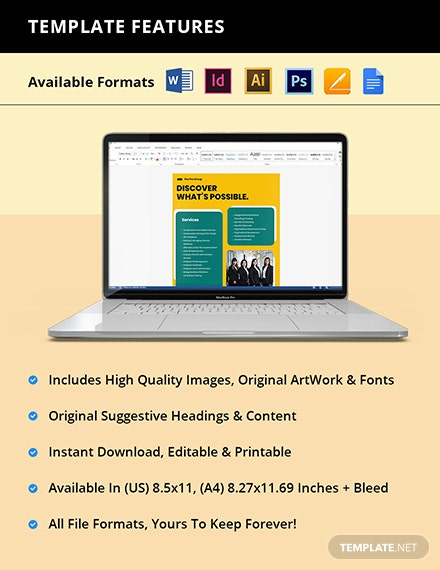 HR Consulting Flyer Template Printable