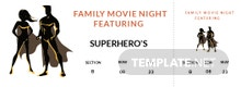 Free Movie Night Ticket Template