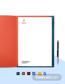 HR Consulting Letterhead Template