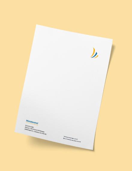 Sample HR Management Letterhead