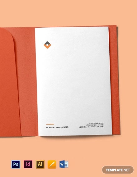 HR Planning Letterhead Template