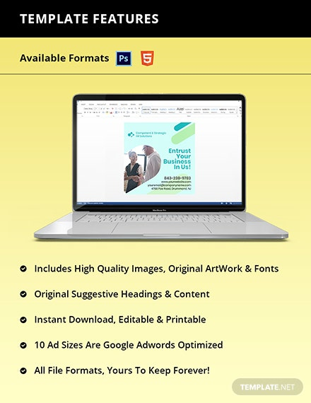 Free Creative HR Banner Template Instruction