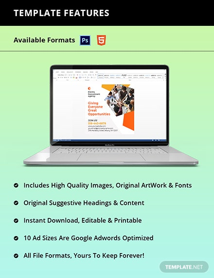 HR Services Banner Template Instruction