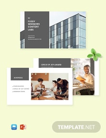 Free Simple HR Presentation Template