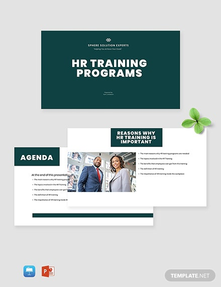 HR Training Presentation Template