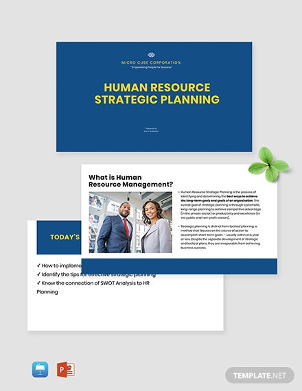 HR Strategy Presentation Template
