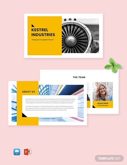 Benefits Presentation Template
