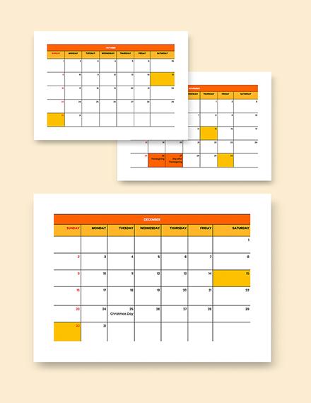 Editable BiWeekly Payroll Calendar