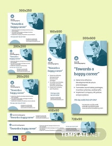 HR Consulting Ads Template