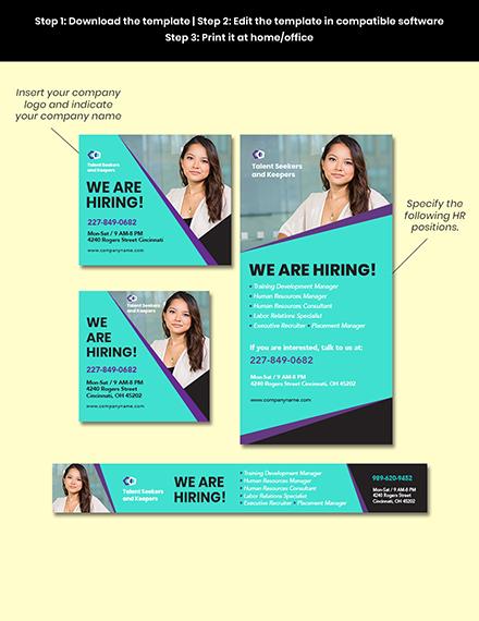 Job Posting Ads Editable