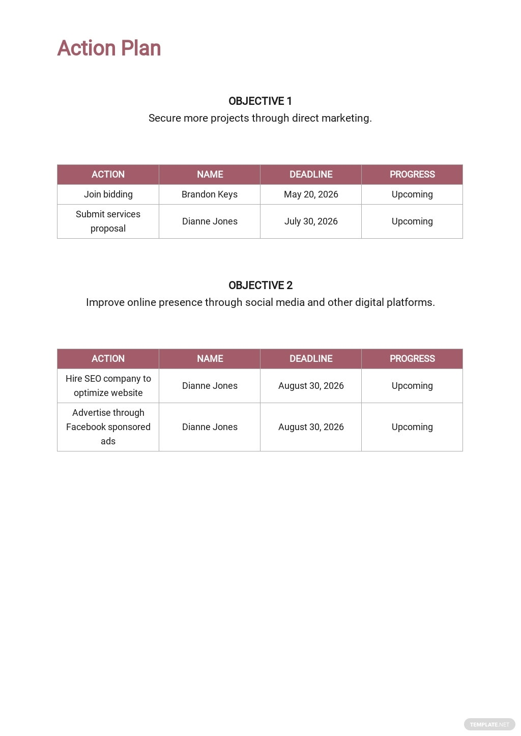 Free Modern Construction Marketing Plan Template 5.jpe