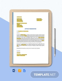 Staff Reward and Recognition Template