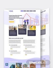 Building Company WordPress Theme/Template