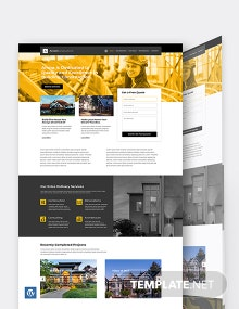 Building Construction WordPress Theme/Template