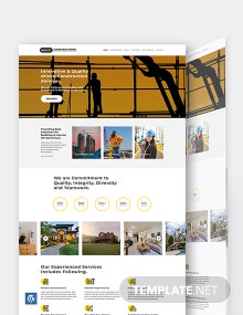 Construction Builder WordPress Theme/Template