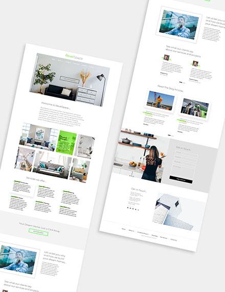 Construction Management Wordpress Theme Format